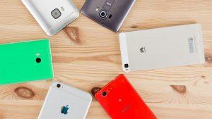 Smartphone mit Kamera im Test